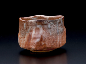 Teabowl-with-red-and-creamy-white-shino-glazes-2011Kato-Yasukage-b.-1964